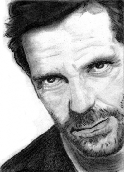 Hugh Laurie by Danyka